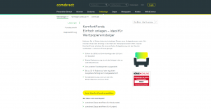Comdirect Komfortfonds