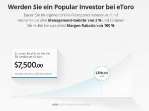 eToro Popular Investor Angebot