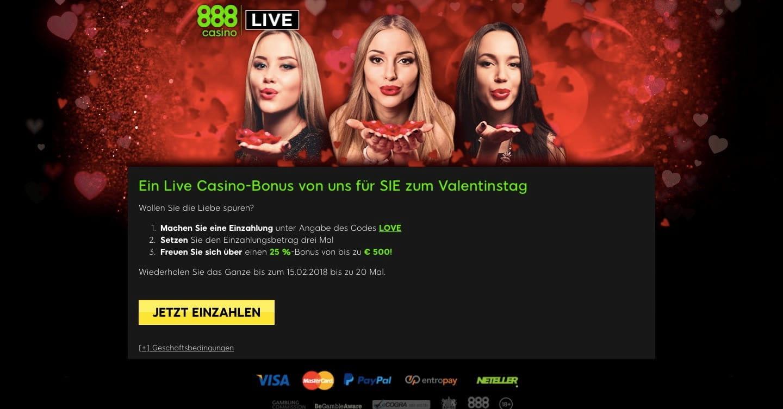Casino mit 500% bonus codes
