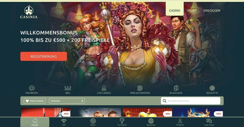 промокод казино casinia 2018