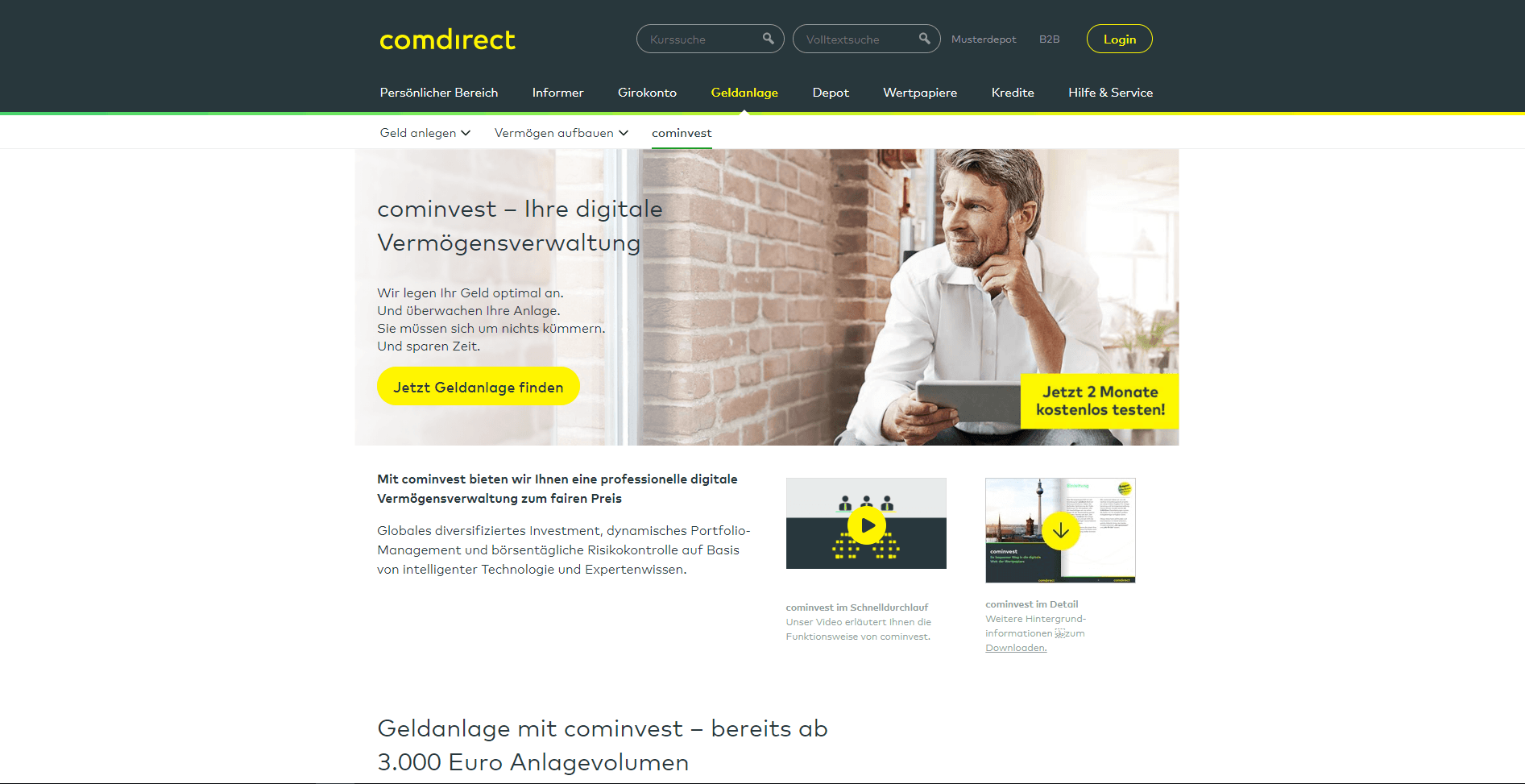 Comdirect Cominvest