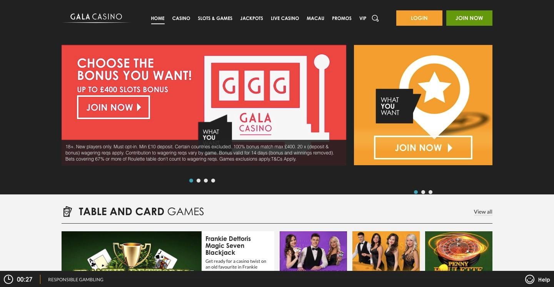 Gala Casino Live Chat