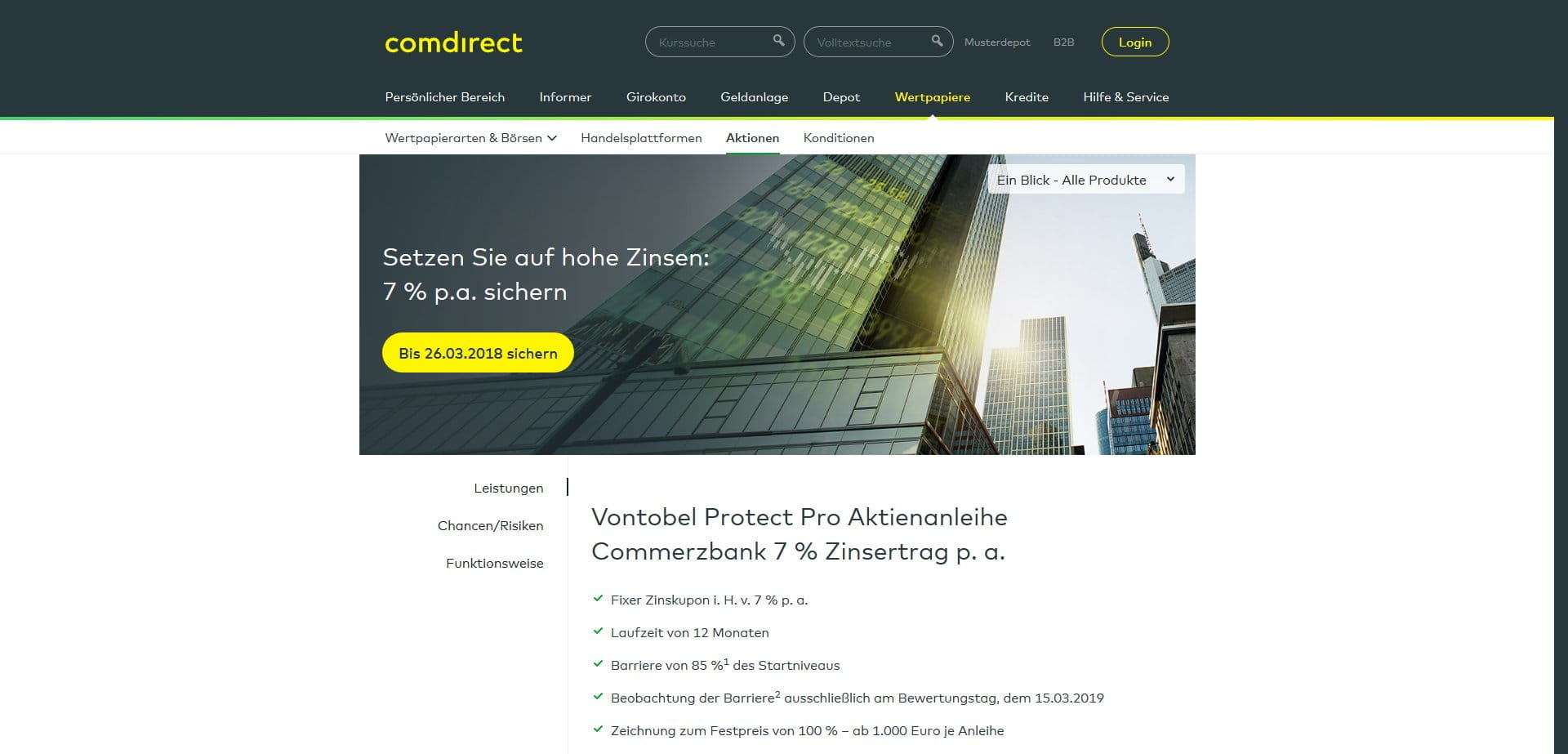 Comdirect forex trading