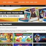 Expekt Casino Cashback