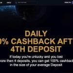 Space Casino Cashback Aktion