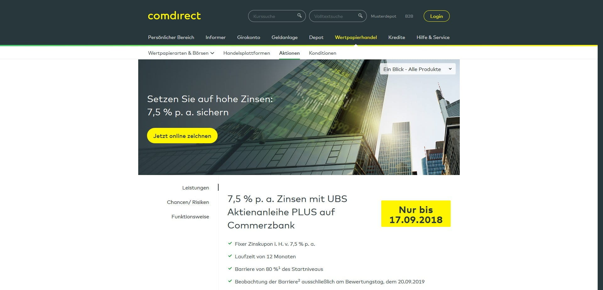 Comdirect Partnerbanken