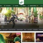 Webseite von Mr Green Casino.