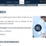 captrader.com Freunde werben