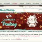 777 Casino Cashback Freitag