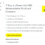 comdirect UBS Aktienanleihe