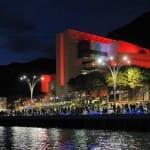 Das Casino Campione in Campione d' Italia am Luganersee.