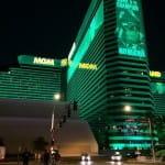 Das Gebäude des MGM Resorts International.