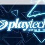 Die Webseite von Playtech.