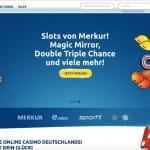 DrückGlück Casino Startseite.