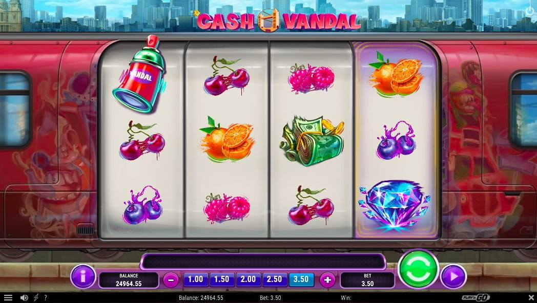 Play'N Go Cash Vandal Slot