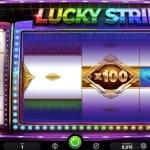 """Slot """"Lucky Stripes"""" von iSoftBet."""