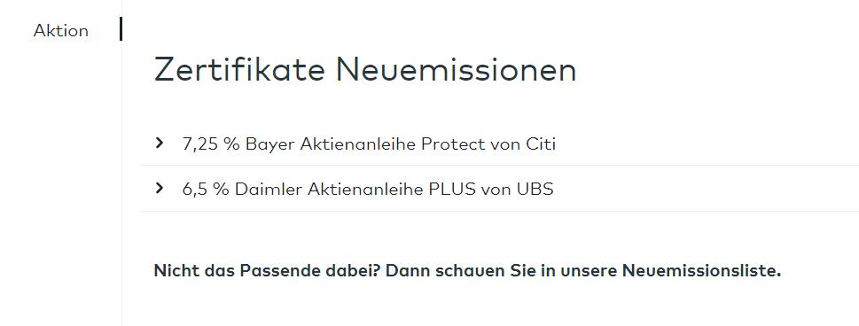 Daimler Aktienanleihe