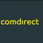 Das Logo der comdirect Bank.