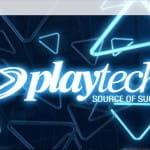 Startseite des Entwicklers Playtech.
