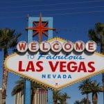 Das Begrüßungsschild von Las Vegas