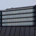 Glasgebäude von außen.