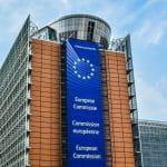 Gebäude der EU-Kommission in Brüssel.