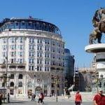 Marriott-Hotel am Hauptplatz in Skopje