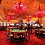 Spielsaal im Casino.