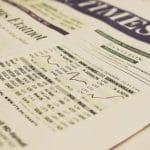 Dax und Dow Jones Aktienkurs.