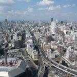 Die japanische Metropole Osaka.