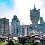 Blick auf Macau.