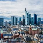 Frankfurt am Main, skyline.