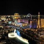 Las Vegas in der Nacht.