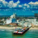Ansicht von Atlantic City.