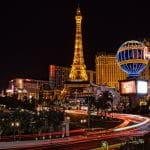 Exklusive Gebäude in Las Vegas.