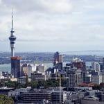 Die neuseeländische Metropole Auckland.
