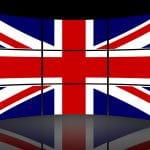 Britische Flagge.