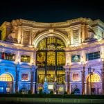 Außenansicht vom Caesars Palace in Las Vegas.