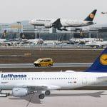 Lufthansa Flugzeuge.