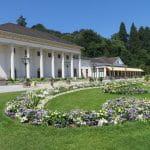 Außenansicht des Kurhauses in Baden-Baden – hier befindet sich die Spielbank.