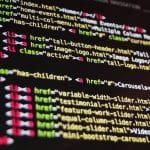 Software- und Internetkodierungen.
