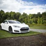 Tesla Elektroauto.