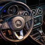 Mercedes Innenraum.