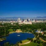 Denver in Colorado.