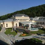 Außenansicht der Casinos Austria Filiale in Baden.