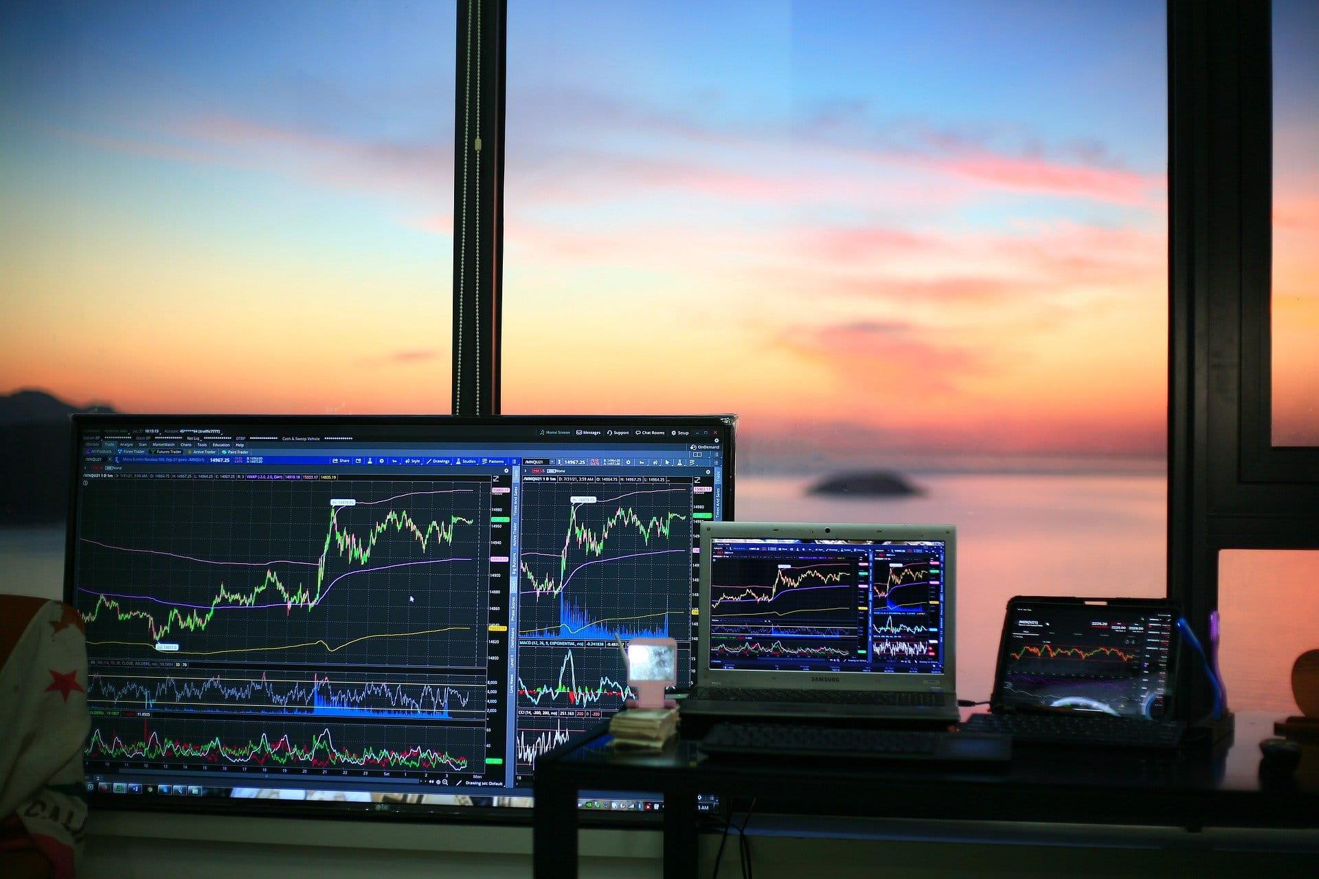 Pasar saham.